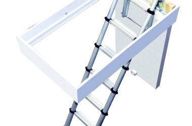 Instagram's Mrs Hinch Loft Telescopic Loft Ladder