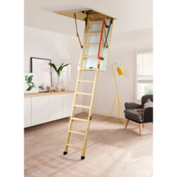 Eco S Line Wooden Loft Ladder